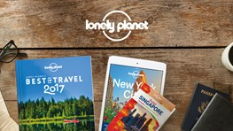 30% student discount on Lonely Planet
