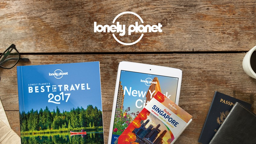 30% discount on Lonely Planet