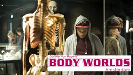 Student discount at BODY WORLDS Amsterdam