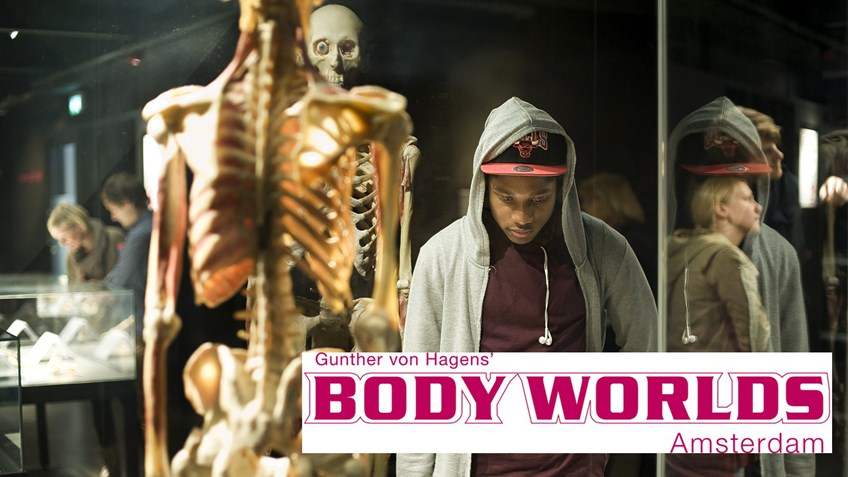 Studentenkorting BODY WORLDS