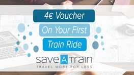 €4 off first train ride