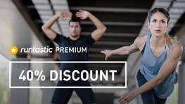 40% discount on Runtastic