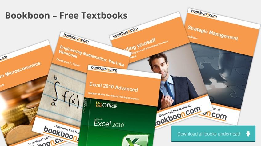 Free books via Bookboon - International Student Identity Card